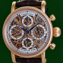 Chronoswiss Opus Skeleton Automatic Chronograph 18k Rose Gold...