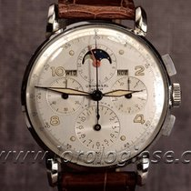 Universal Genève Tri-compax Steel Claw-lugs Chronograph Ref....