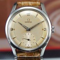 Omega Steel Screwback Calatrava Rare Vintage Mint