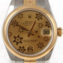 Rolex 31mm Two Tone Datejust