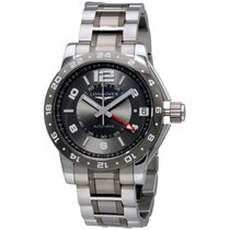 Longines Admiral Grey Dial Stainless Steel Men's Watch...
