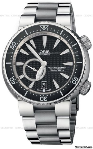 Oris Divers Small Second Date