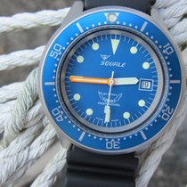 Squale Professional 1521 Ocean Blue - Blasted -