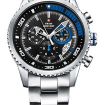 Swiss Military SM34042.04 Chronograph 10 ATM, 44 mm
