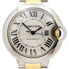 Cartier Ballon Bleu 33mm Steel & 18K Yellow Gold Watch