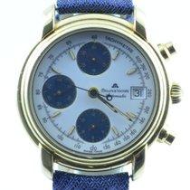 Maurice Lacroix Herren Uhr Chronograph Automatik 7750 Vergolde...