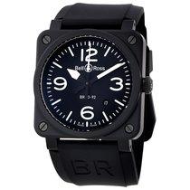 Bell & Ross Men's BR0392-BL-CE Aviation  Black Matte...