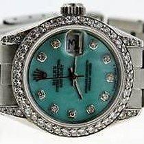 Rolex Ladies Datejust Watch Diamond Dial Lugs  Yr 1978