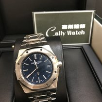 Audemars Piguet Cally - AP 15202ST Royal Oak Extra Thin Jumbo...