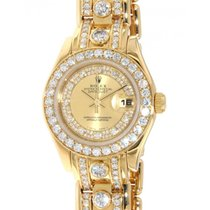 Rolex Datejust Pearlmaster 69298 Yellow Gold, Diamonds, 29mm