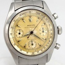 Rolex Oyster Chronograph Antimagnetic Pre Daytona Stainless...