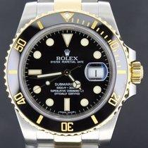Rolex Submariner Date Gold/Steel, Black Dial 40MM Full Set 2011