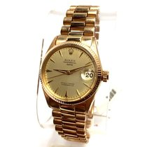 Rolex Oyster Perpetual Date 18k Solid Yellow Gold Unisex Watch...