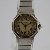 Cartier Santos Gold / Stahl #K2869 mit Stahlband