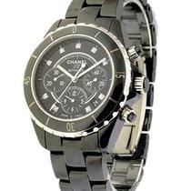 Chanel J12 Black Chronograph H2419