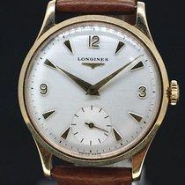 Longines White Dial Handaufzug Anno1960 - 9Kt Gold