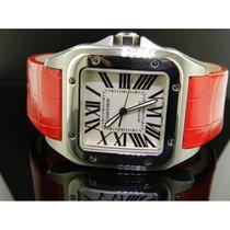 Cartier Santos 100 Acciao Automatico Ref.w20073x8