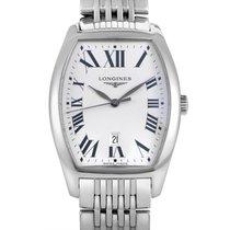 Longines Evidenza Men's Stainless Steel Quartz Watch...