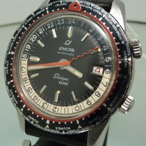 Enicar Sherpa Guide GMT vintage diver Super Compressor