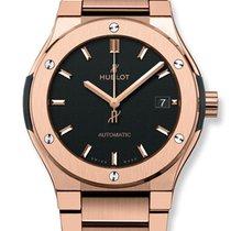 Hublot Classic Fusion 45mm King Gold Bracelet Automatic Watch