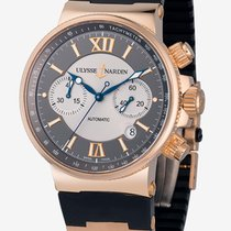 雅典 (Ulysse Nardin) Marine Collection Maxi Marine Chronograph