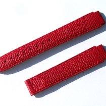Chopard Kalb Armband Band Strap Rot Red 16 Mm 75/110 New C16-2