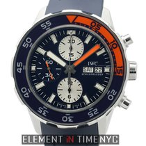 IWC Aquatimer Collection Aquatimer Chronograph Blue Dial Ref....