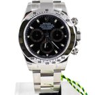 Rolex Daytona Cosmograph Stainless steel black 100% new