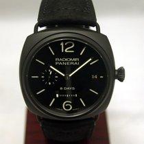 Panerai Pam 384 Limited Edition Black Ceramic And Titanium