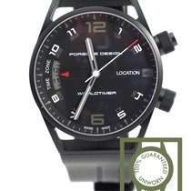 Porsche Design P6750 Worldtimer 45mm P675013441180 NEW