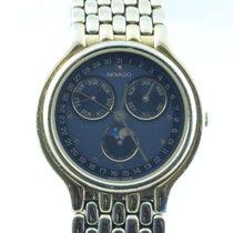 Movado Damen Uhr 25mm Stahl Vergoldet Museum Watch Rar
