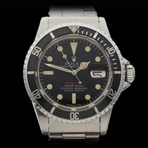 Rolex Submariner Red Mark IV Feet First Stainless Steel Gents...