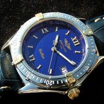 Breitling Callisto Mit Blauem Zifferblatt Stahl Gold B64046