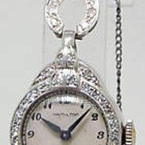 Hamilton Vintage Platinum and Diamond Ladies Watch