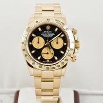 Rolex 40mm 18k Yellow Gold Daytona 116528 Paul Newman Face