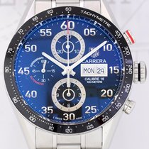 TAG Heuer Carrera Day Date Chronograph Calibre 16 Steel TOP...