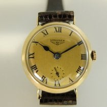 Longines gold small second ladies