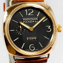 Panerai Radiomir PAM00197 8 Days 18K Solid Rose Gold