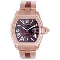 Cartier Roadster 18k Rose Gold Extra Large Men's Watch...