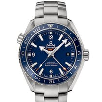 Omega Seamaster Planet Ocean 600 M Co-Axial GMT 43.5 MM