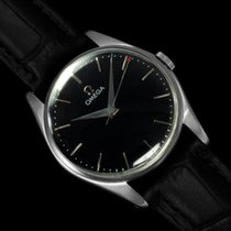 Omega 1958 Classic Vintage Mens Dress Watch - Stainless Steel