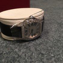 Cartier Tortue Diamond 18 kt White Gold Ladies Watch WA507231