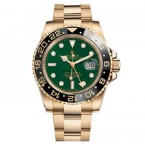 Rolex GMT-Master II Yellow Gold GREEN DIAL