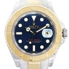 Rolex Yachtmaster 16623 Two Tone Blue Dial Mens Watch