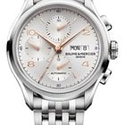 Baume & Mercier CLIFTON AUTOMATIC CRONOGRAFO 43 MM silver...