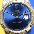 Rolex Datejust Turn-O-Graph 16263 (1993) Blue dial for ...