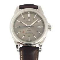 Omega DeVille Co-Axial GMT Grey 4833.40.31