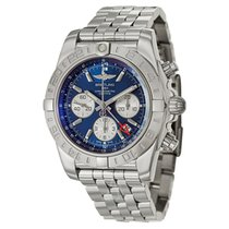 Breitling AB042011/C851-375A CHRONOMAT 44MM GMT STAINLESS...