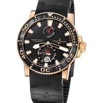 Ulysse Nardin Maxi Marine Diver Chronometer in Rose Gold