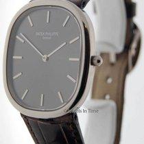 Patek Philippe Ellipse 3738 18K White Gold Mens Watch Box/Pape...